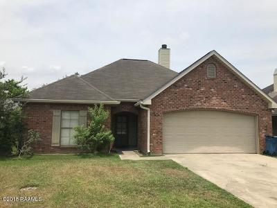 Carencro Single Family Home For Sale: 109 St Fabian Drive