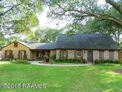 Lafayette Parish Single Family Home For Sale: 187 Steiner Road