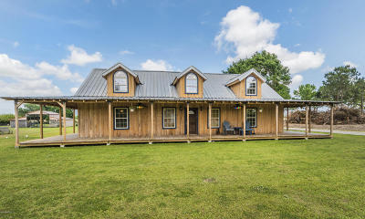 Youngsville Single Family Home For Sale: 6821 Hwy 82