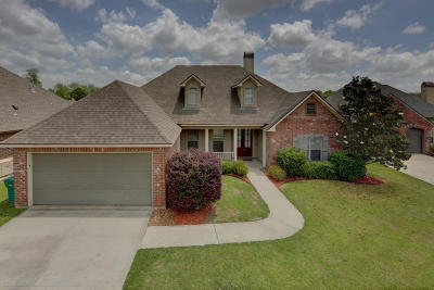 Broussard Single Family Home For Sale: 110 Dogleg Drive