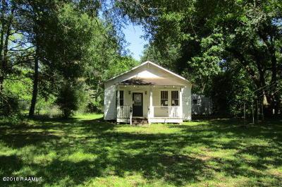 Iota Single Family Home For Sale: 5486 Riverside Road