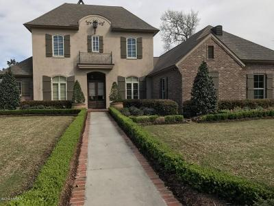 New Iberia Single Family Home For Sale: 2811 Teal Drive