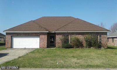 New Iberia Single Family Home For Sale: 713 Bonnet Street