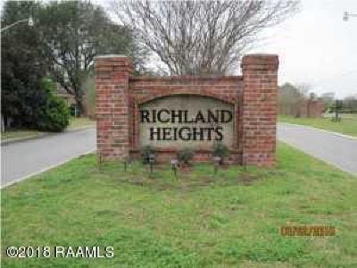 Lafayette Residential Lots & Land For Sale: 319 Chimney Rock Boulevard
