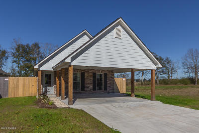 St Martinville, Breaux Bridge, Abbeville Single Family Home For Sale: 307 Harvest Lane