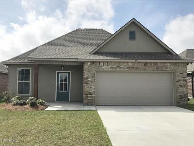 Lafayette Single Family Home For Sale: 607 Elwick Drive