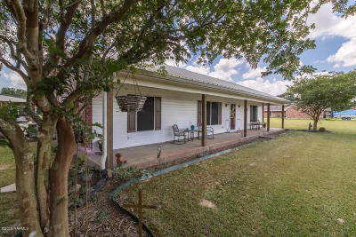 Abbeville Single Family Home Active/Contingent: 11411 Huey Road