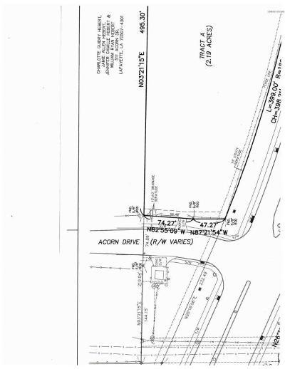 Lafayette Residential Lots & Land For Sale: Tbd Louisiana Avenue