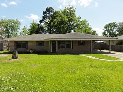 New Iberia Single Family Home For Sale: 4108 South Drive