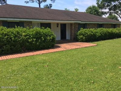 Opelousas Single Family Home For Sale: 308 Country Ridge Road