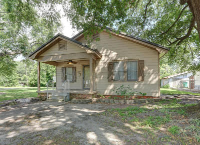 Jeanerette Single Family Home For Sale: 228 Florence Street