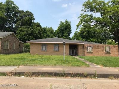 Opelousas Single Family Home For Sale: 624 S King Street