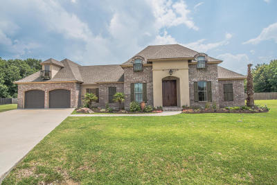 Duson Single Family Home For Sale: 106 Periwinkle Trace