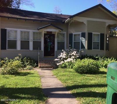 Opelousas Single Family Home For Sale: 129 W Tennis Street