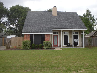 Youngsville Single Family Home For Sale: 119 Meadow Glenn Drive