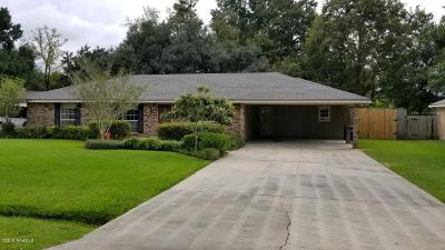 Carencro Single Family Home For Sale: 317 St Pierre Boulevard