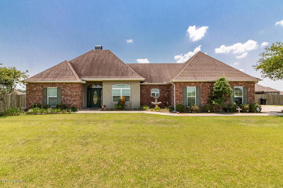 New Iberia Single Family Home For Sale: 4006 E Admiral Doyle Drive