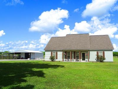 Church Point Single Family Home For Sale: 2179 Higginbotham Hwy.