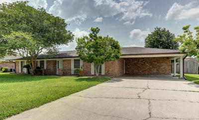New Iberia Single Family Home For Sale: 903 Roberta Street