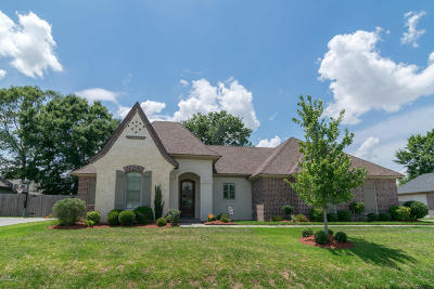 broussard Single Family Home For Sale: 129 Heathwood Drive