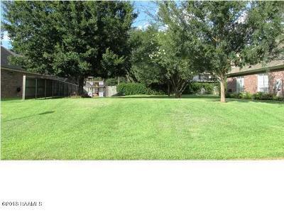 Iberia Parish Residential Lots & Land For Sale: 20 Oak Bend Bend