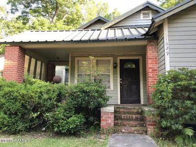 Opelousas Single Family Home For Sale: 1629 Pujo Avenue