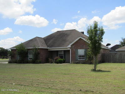 St Martinville, Breaux Bridge, Opelousas Single Family Home For Sale: 111 Yakima Road