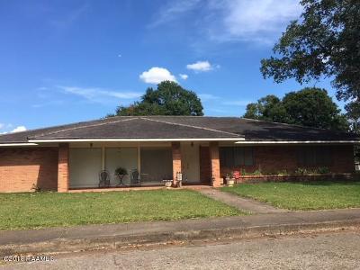 Opelousas Single Family Home For Sale: 128 N Lombard Street