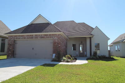 Broussard Single Family Home For Sale: 306 Misty Wind Drive