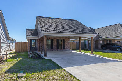 St Martinville, Breaux Bridge, Abbeville Single Family Home For Sale: 312 Harvest Lane