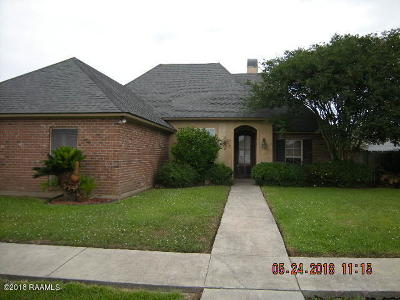 Carencro Single Family Home Active/Contingent: 408 Gayle Road