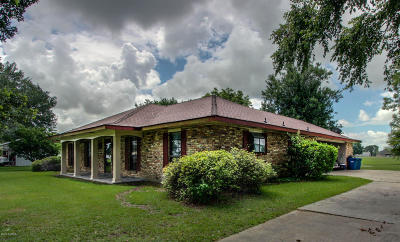 Church Point Single Family Home For Sale: 3307 W Gloria Switch Rd Road