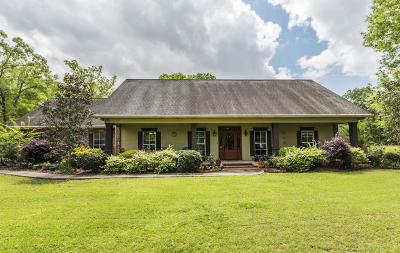 Ville Platte Single Family Home For Sale: 1141 Huckleberry Lane