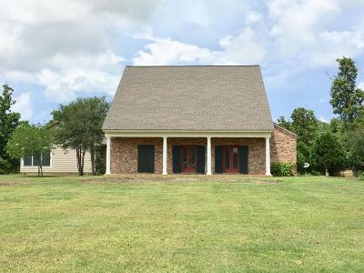 Abbeville Single Family Home For Sale: 15638 W La Hwy 330