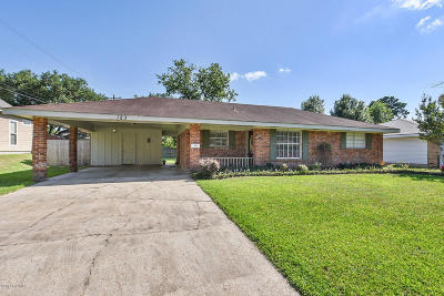 Lafayette  Single Family Home For Sale: 123 Patricia Ann Place