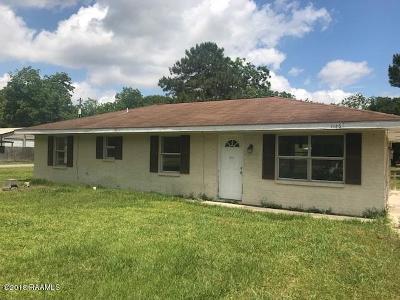 Arnaudville Single Family Home For Sale: 1145 Lee Gordon Road