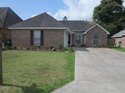 Youngsville Rental For Rent: 602 Copper Meadow Boulevard