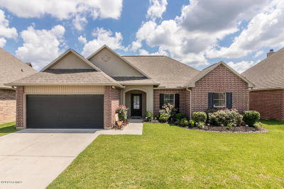 Carencro  Single Family Home For Sale: 106 Greenvale Drive