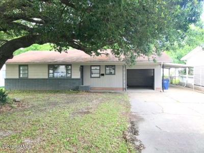 Single Family Home For Sale: 523 Natchez Boulevard