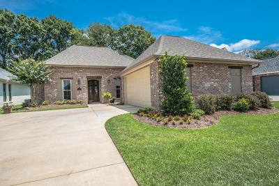 Woodlands Of Acadiana Single Family Home For Sale: 109 Olivewood Drive