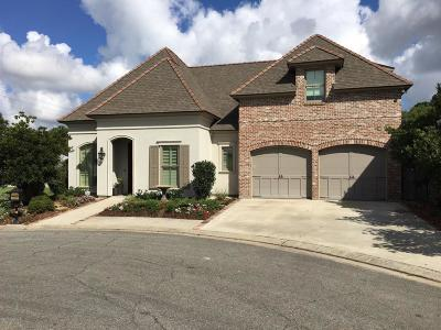 Lafayette Single Family Home For Sale: 138 Club View Drive