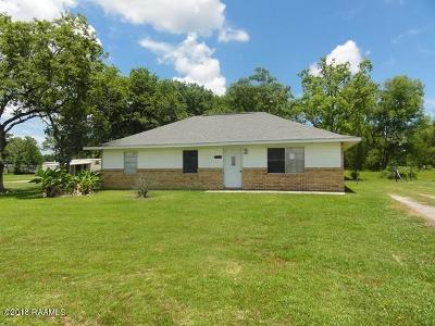 Breaux Bridge Single Family Home For Sale: 1239 Bordelon Road