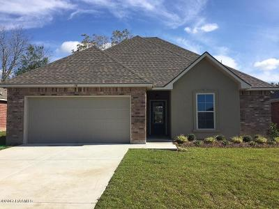Duson Single Family Home For Sale: 110 Hunters Hill Drive