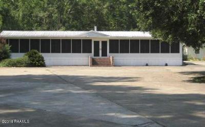 Breaux Bridge Single Family Home For Sale: 1007 Numa Wyatt Road