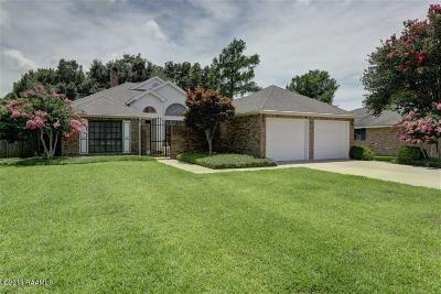 New Iberia Single Family Home For Sale: 827 Briarwood Drive