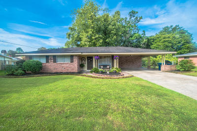 Lafayette Single Family Home Active/Contingent: 116 Charles Drive