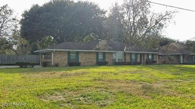 Carencro Single Family Home For Sale: 630 Hector Connoly Road