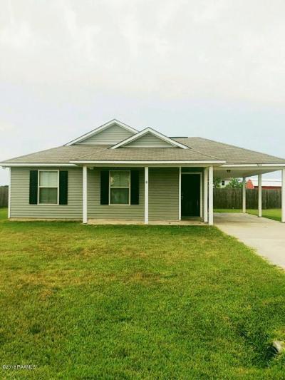 Carencro Single Family Home For Sale: 304 Oak Springs Ln Lane