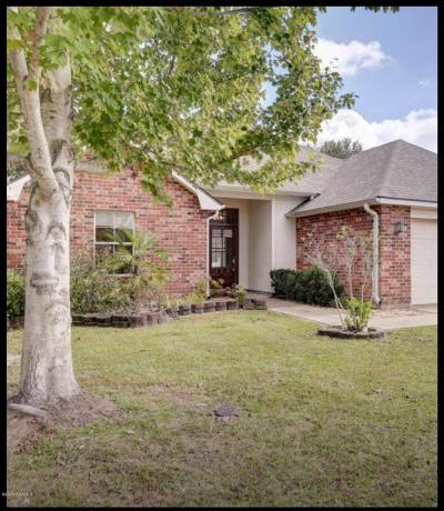 Broussard Single Family Home For Sale: 110 Tulip Tree Lane