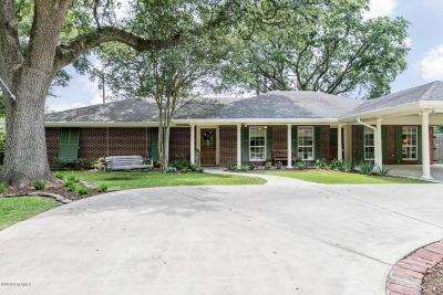 Lafayette Single Family Home For Sale: 1113 Montrose Boulevard